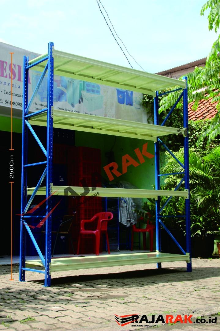 RAK GUDANG / RAK BESI MEDIUM DUTY TIPE RR-50 T.250