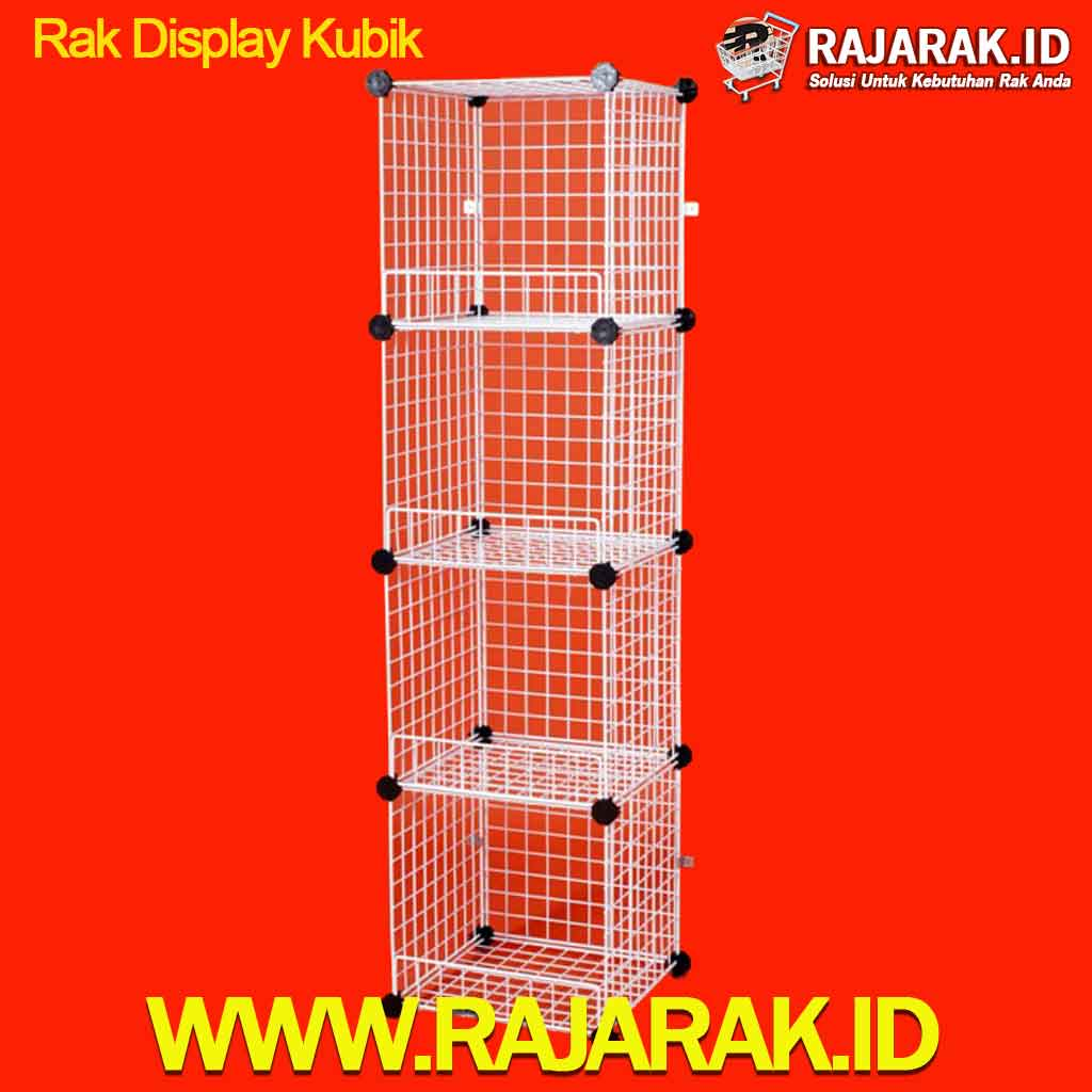 Rak Display Kubik