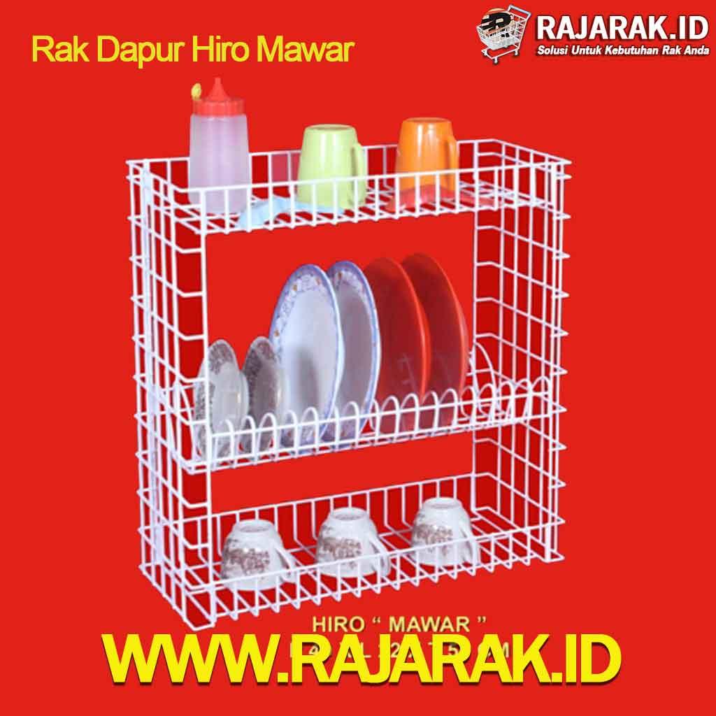 Rak Piring Hiro Mawar