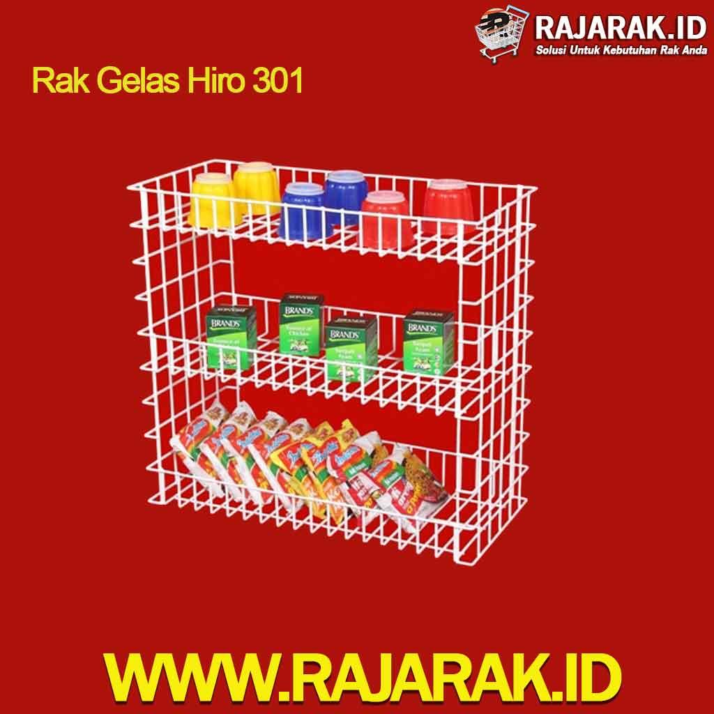 Rak Gelas Hiro 301