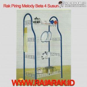 Rak Piring Melody Beta 4 Susun
