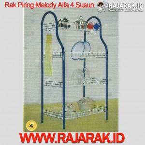 Rak Piring Melody Alfa 4 Susun
