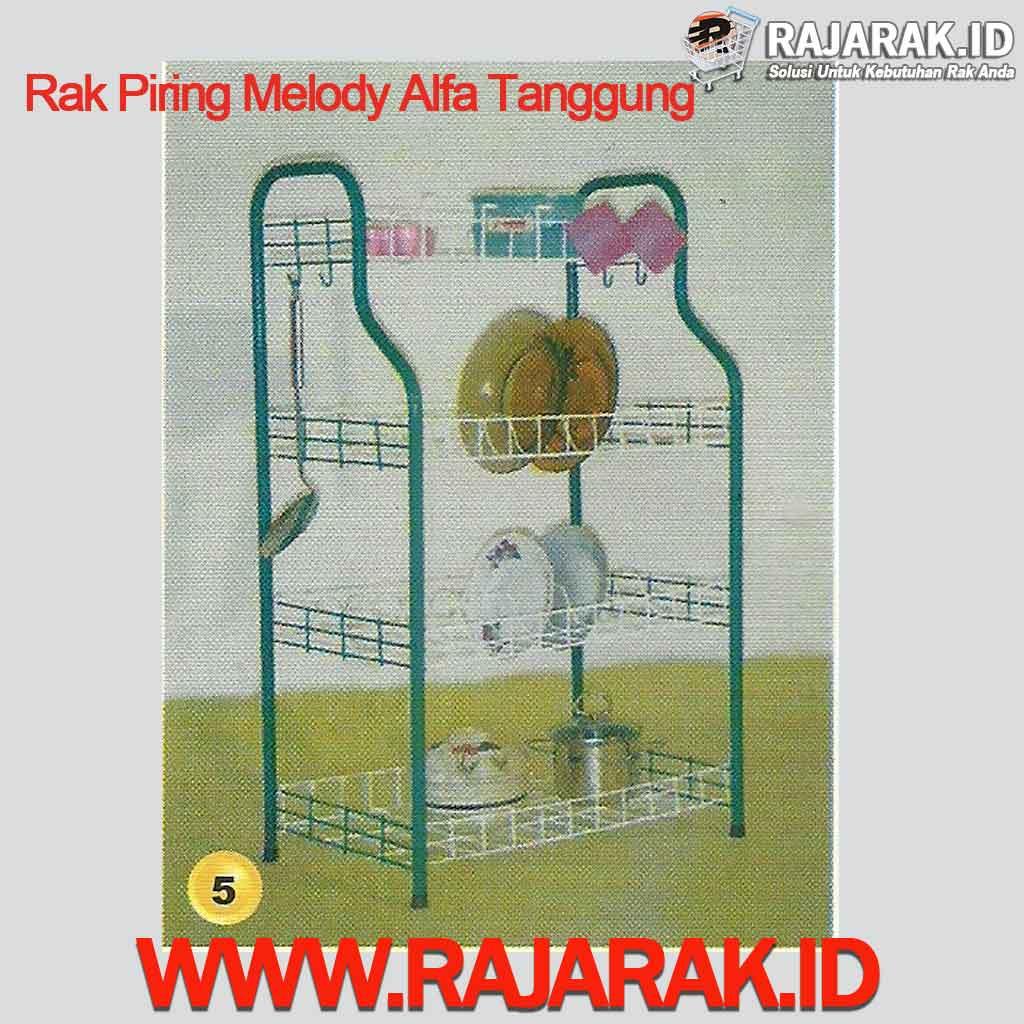 Rak Piring Melody Alfa Tanggung