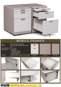 ALBA MOBILE DRAWER