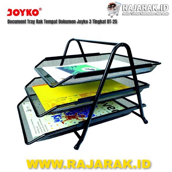 Document Tray Rak Tempat Dokumen Joyko 3 Tingkat DT-25