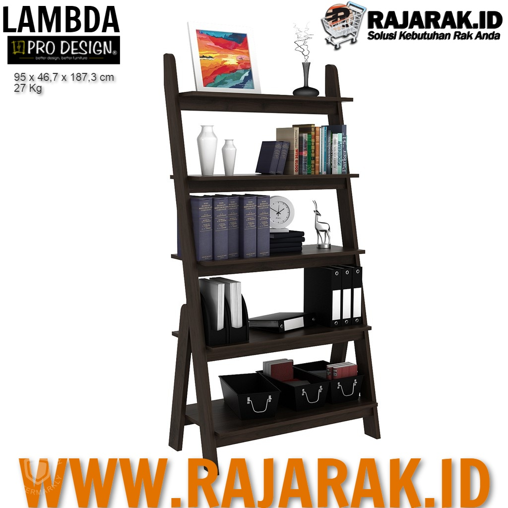 PRO DESIGN – LAMBDA RAK UNIT 95 – Brown Walnut TYPE LDASU 95