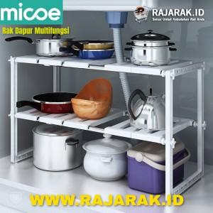 Micoe rak penyimpanan multifungsi untuk dapur ukuran flexible