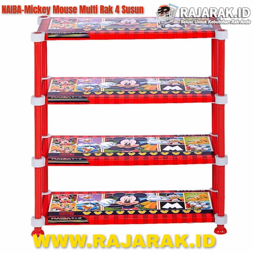 Naiba Mickey Mouse Multi Rak 4 Susun(1)