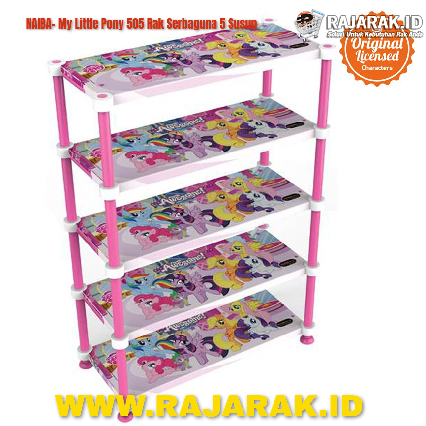 NAIBA MY LITTLE PONY 505 RAK SERBAGUNA 5 SUSUN