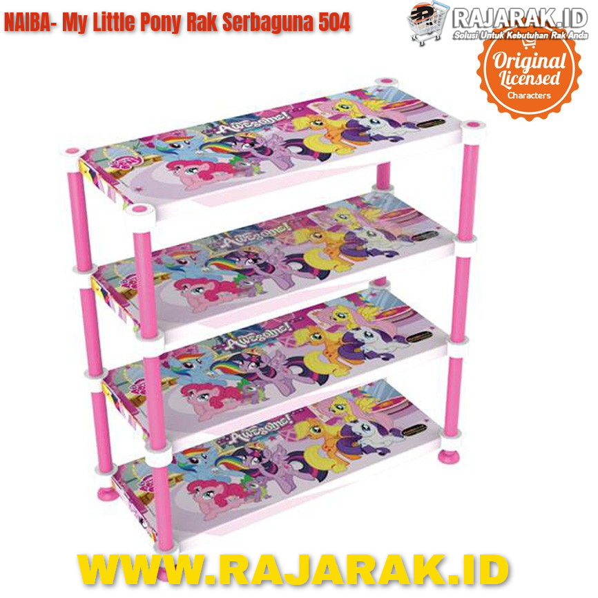 NAIBA MY LITTLE PONY 504 RAK SERBAGUNA