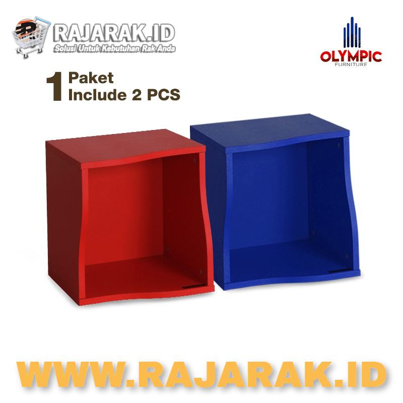 OLYMPIC MULTIFUNCION BOX - RAK SERBAGUNA WAVY - WAVY BOX