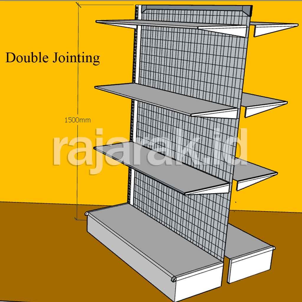 Rak Minimarket Double Jointing