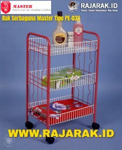 Rak Serbaguna Master Tipe PE033
