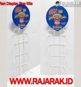 Rak Display Pop Mie - Rak Promosi Modelline