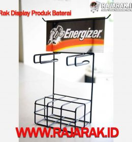Rak Display Produk Baterai - Modelline
