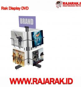 Rak Display DVD - Rak Promosi Modelline