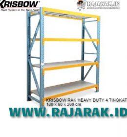 Rak Krisbow Heavy Duty 4 Tingkat