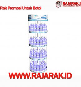Rak Promosi Botol - Modelline