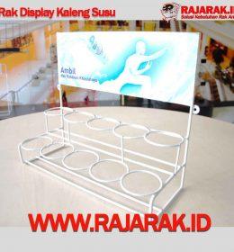 Rak Display Kaleng Susu