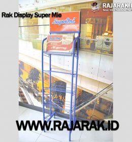 Rak Display Super mie