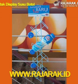 Rak Display Botol Susu