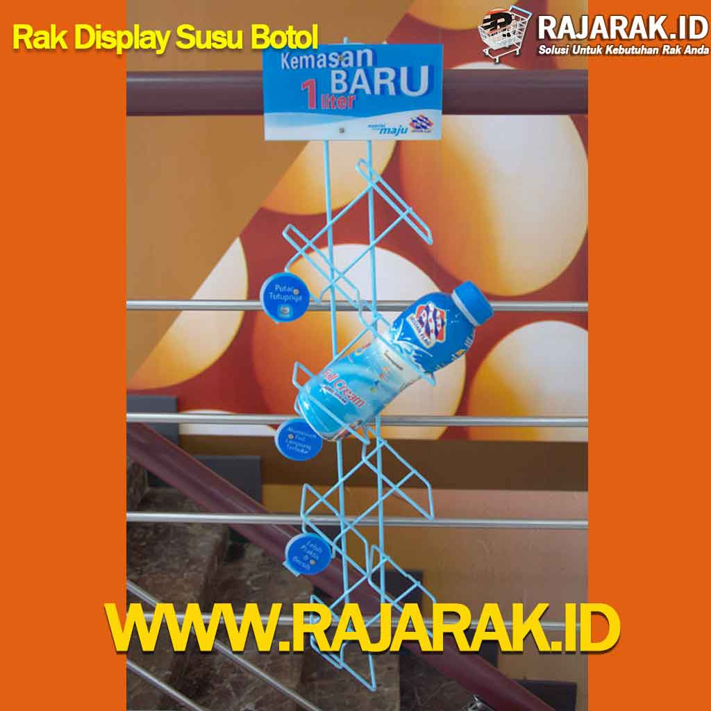 RAK DISPLAY SUSU BOTOL