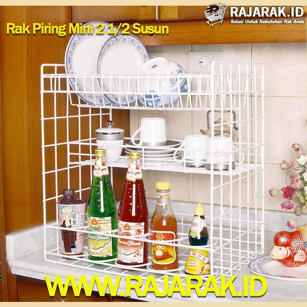 Modelline Rak Piring Mini 2,5 Susun
