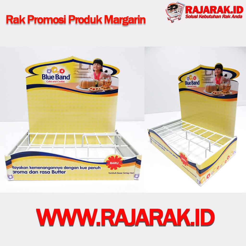 RAK DISPLAY PRODUK MARGARIN