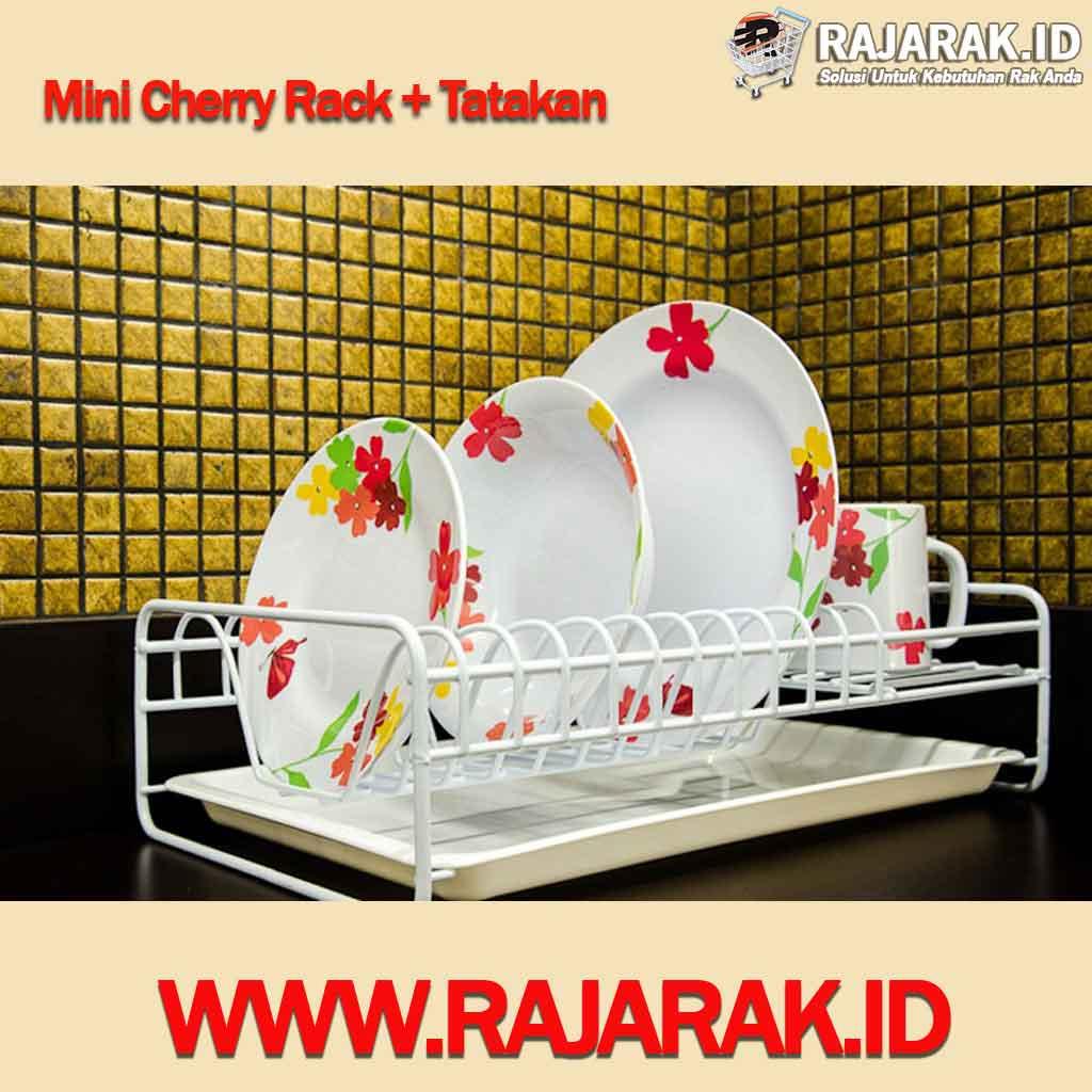 Mini Cherry Rak Piring Modelline + Tatakan
