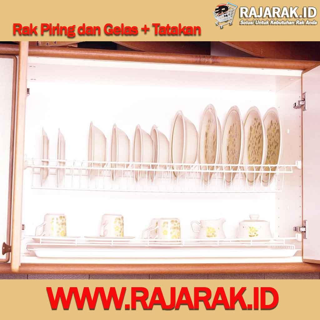 Modelline Rak Piring dan Gelas + Tatakan