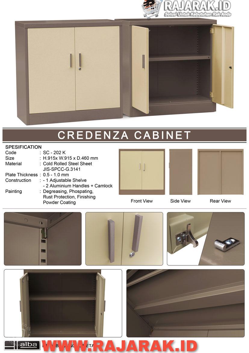 ALBA CREDENZA CABINET TIPE SC-202K