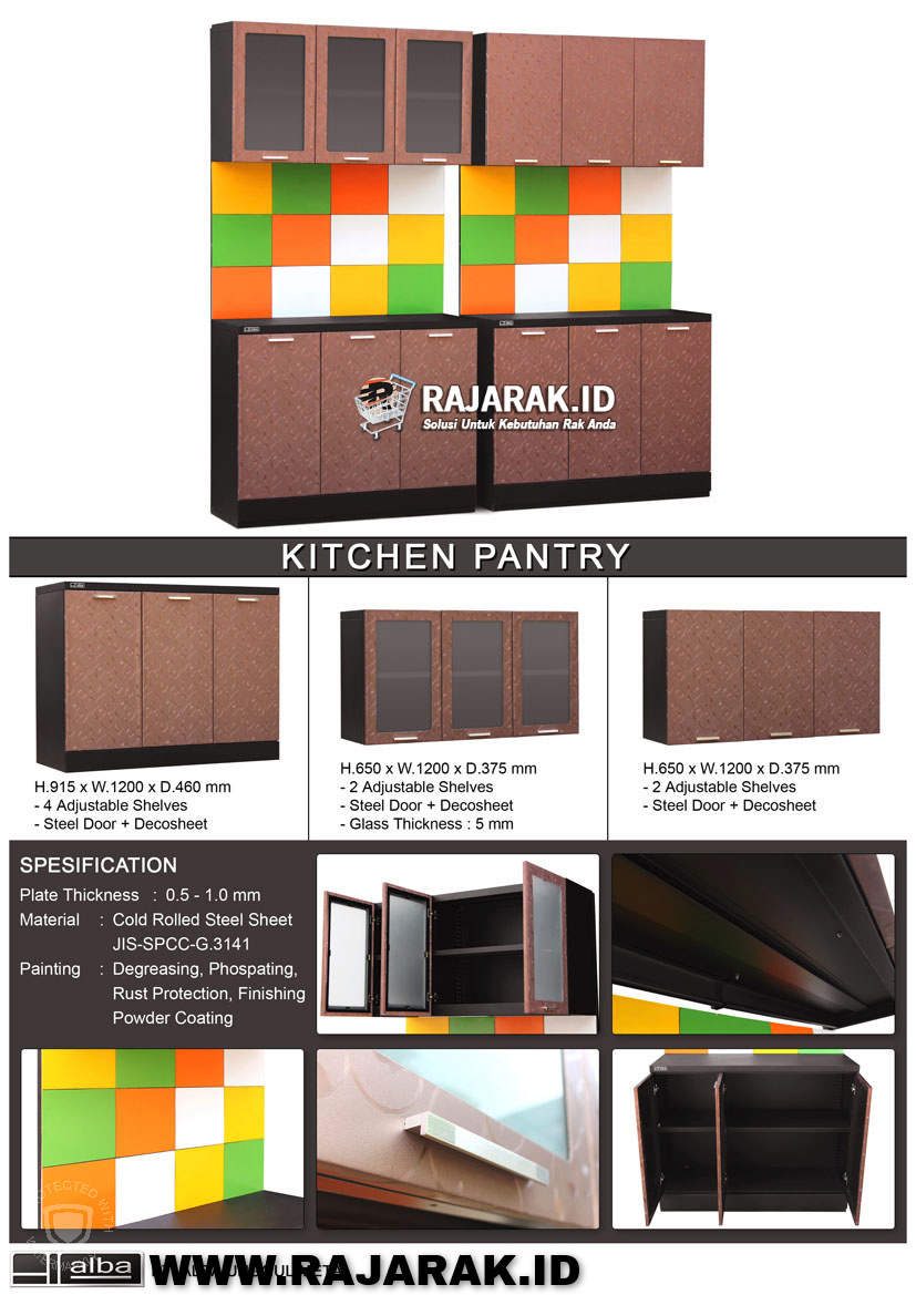 ALBA KITCHEN PANTRY