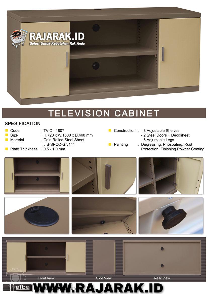 ALBA TELEVISION CABINET / RAK TV TIPE TVC-1807