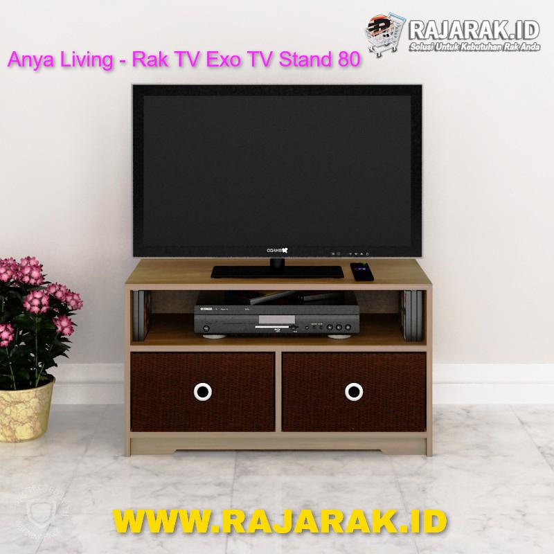 Anya Living - Rak TV Exo TV Stand 80