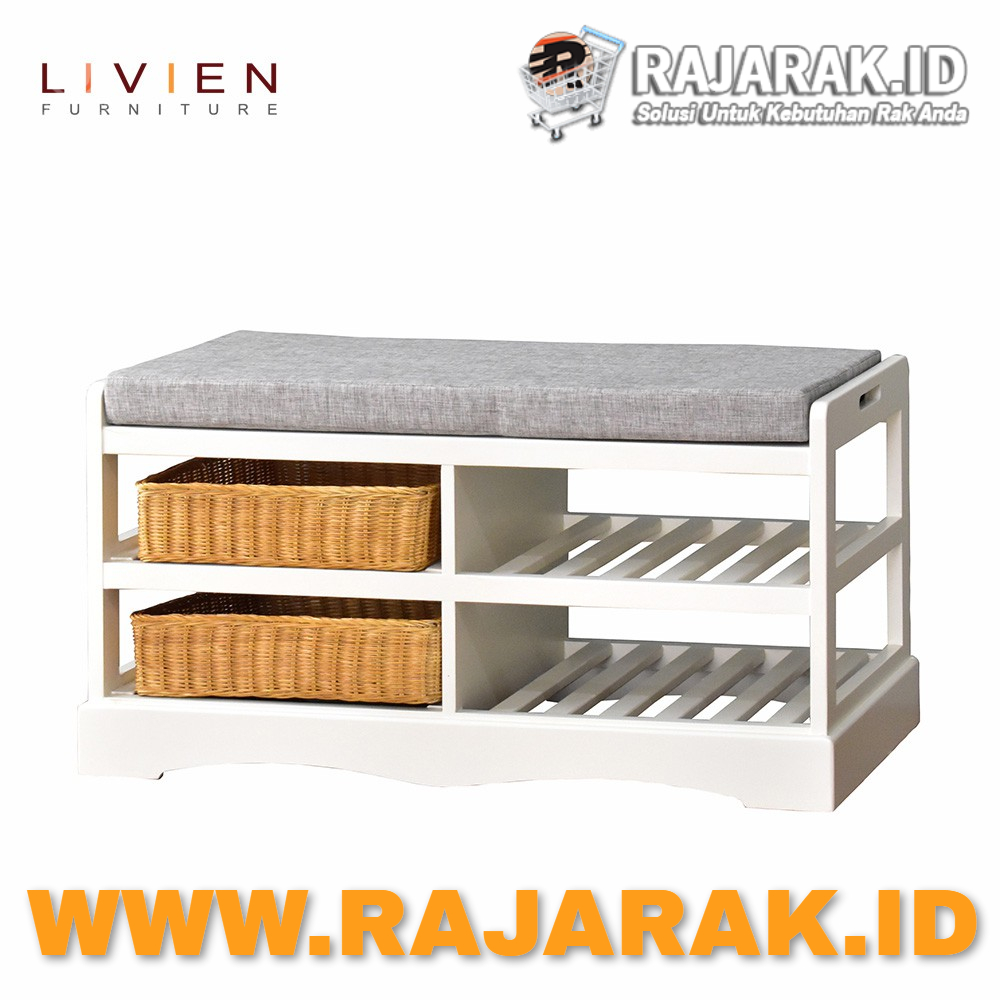 LIVIEN FURNITURE - DYNAMIC BENCH RACK - RAK SEPATU
