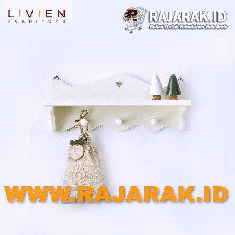 LIVIEN FURNITURE - RAK DINDING EVELYN SERIES - RAK GANTUNG SERBAGUNA