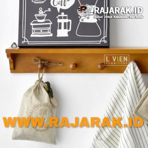 LIVIEN FURNITURE - RAK DINDING - RAK GANTUNG SERBAGUNA MAPLE STORY