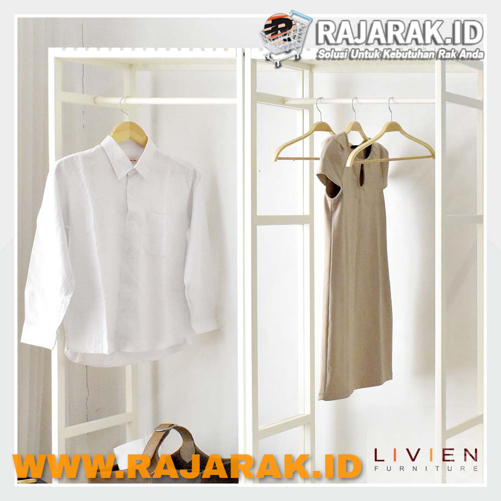 LIVIEN FURNITURE - RAK GANTUNGAN BAJU - HANGER STYLISH