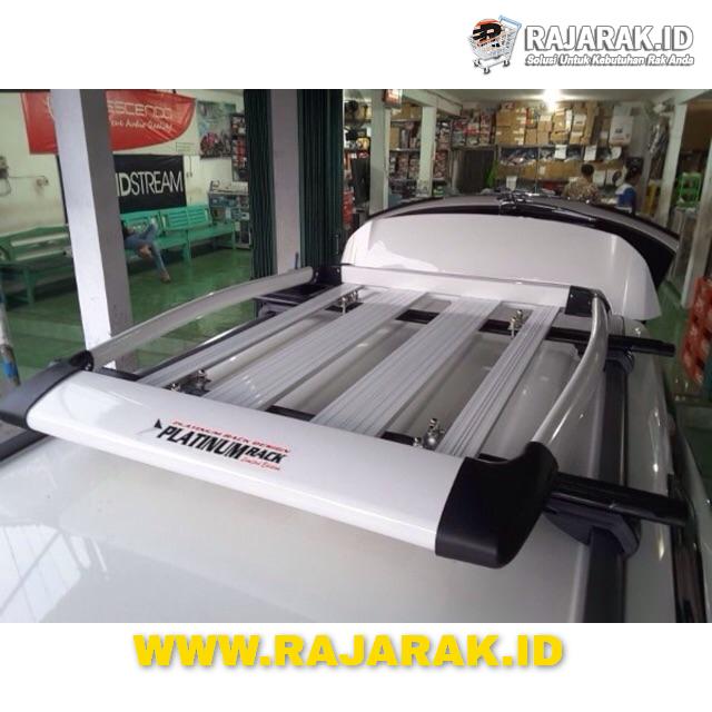 Paket Roofrack rak bagasi atas mobil & Crossbar Platinum