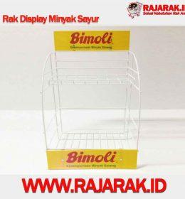 Rak Display Minyak Sayur - Rak Promosi Modelline